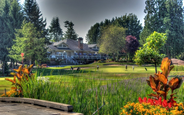 Fort Langley Golf Course Hole 18